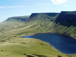 Photo of The Black Mountain and Llyn y Fan Fach