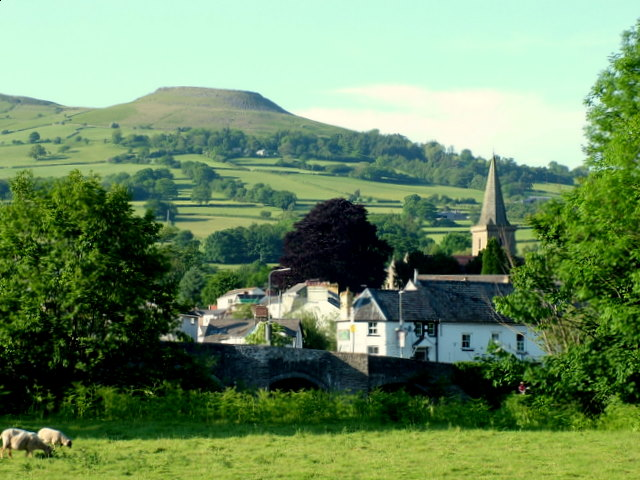 Crickhowell to Table Mountain
