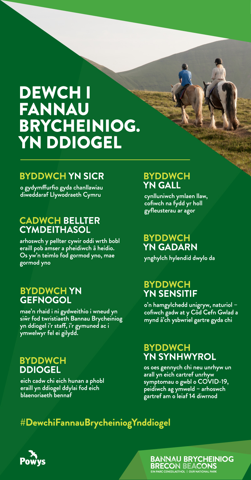 Welsh code of conduct infographic